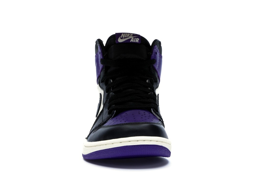 best sneakers 11af5 9ae7e Jordan 1 Retro High Court Purple - 555088-501