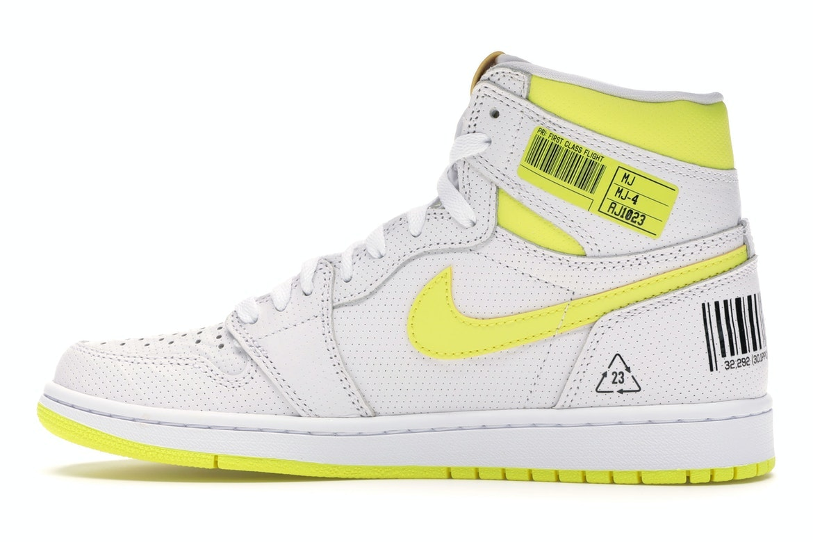 air jordan flight jaune