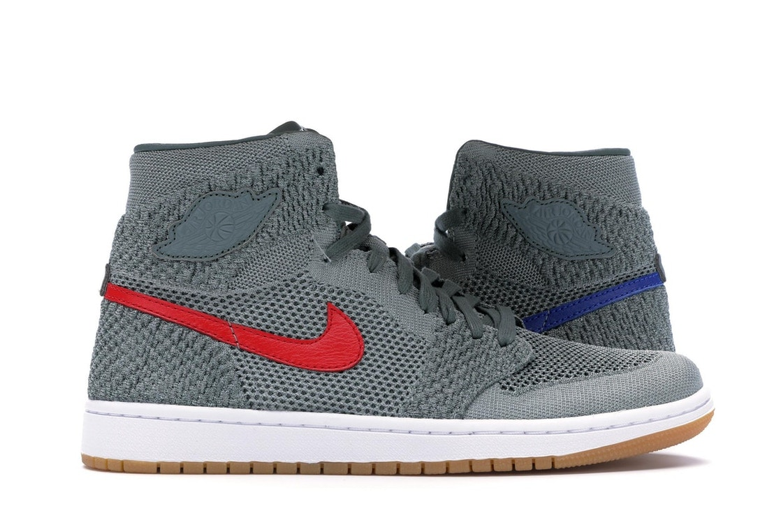 6dfffaeb25bf Sell. or Ask. Size 7. View All Bids. Jordan 1 Retro High Flyknit Clay Green