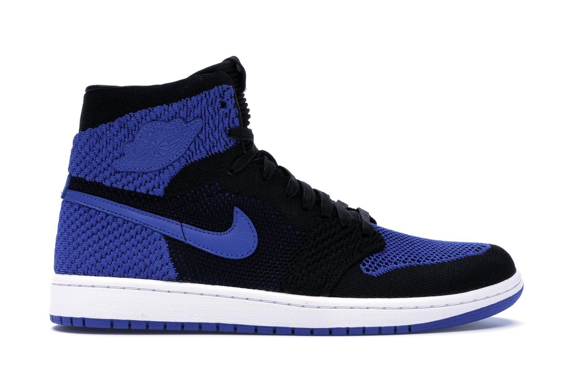 newest 8284a 5a61c Jordan 1 Retro High Flyknit Royal - 919704-006
