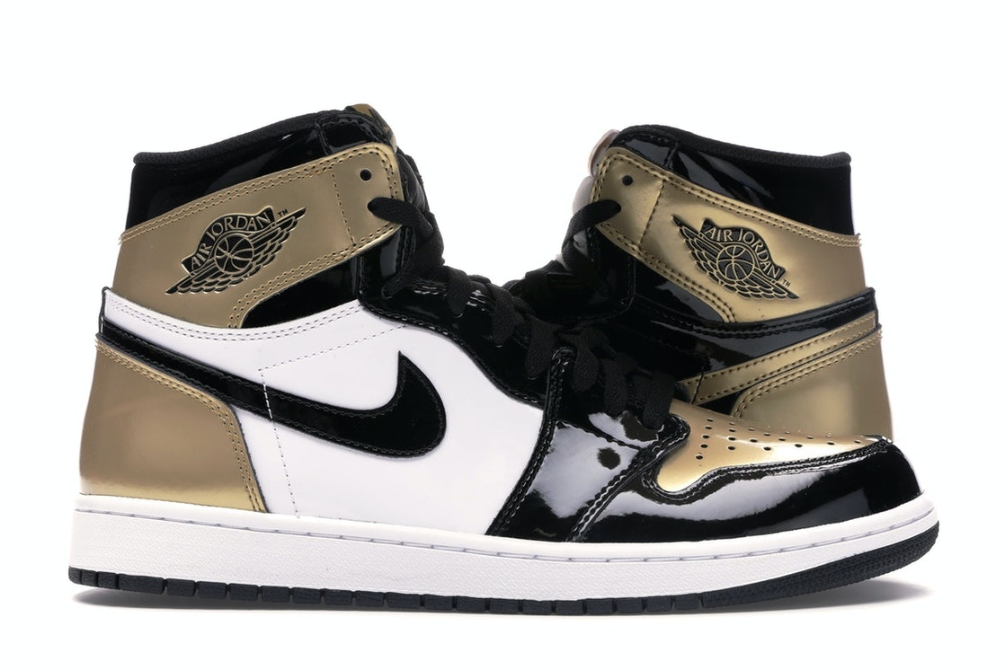 buy online a5cfb 4afa9 Jordan 1 Retro High Gold Top 3
