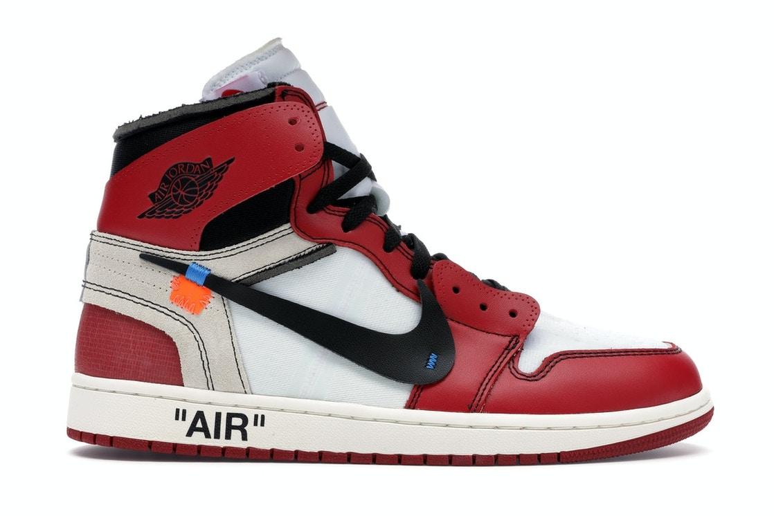 on sale 3655b 142e0 Jordan 1 Retro High Off-White Chicago