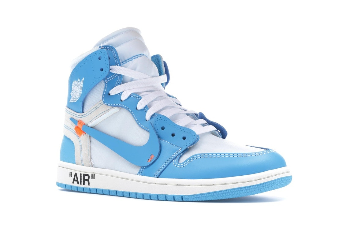 75a989186ab5 Jordan 1 Retro High Off-White University Blue - AQ0818-148
