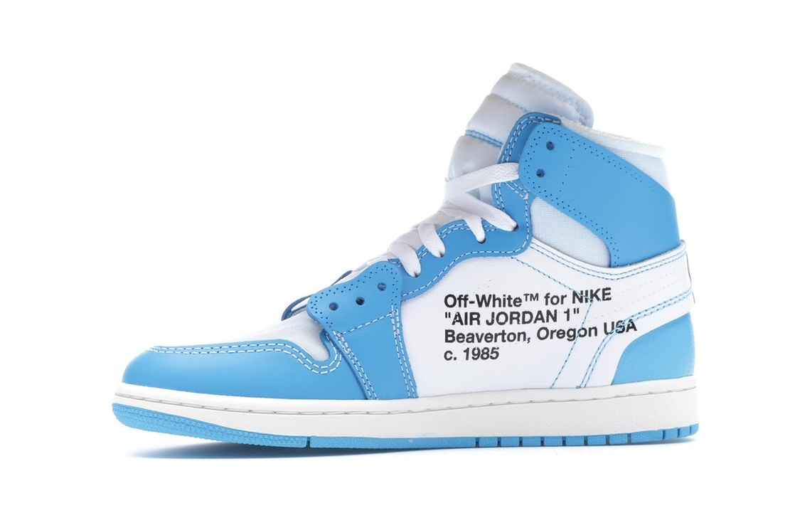 Jordan 1 Retro High Off-White University Blue - AQ0818-148 b148c312cb