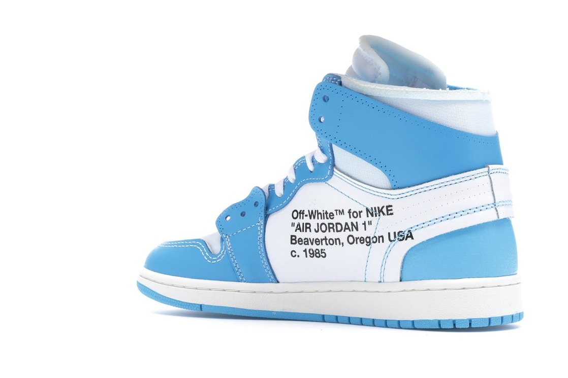 5597b5cfdcfd Jordan 1 Retro High Off-White University Blue - AQ0818-148