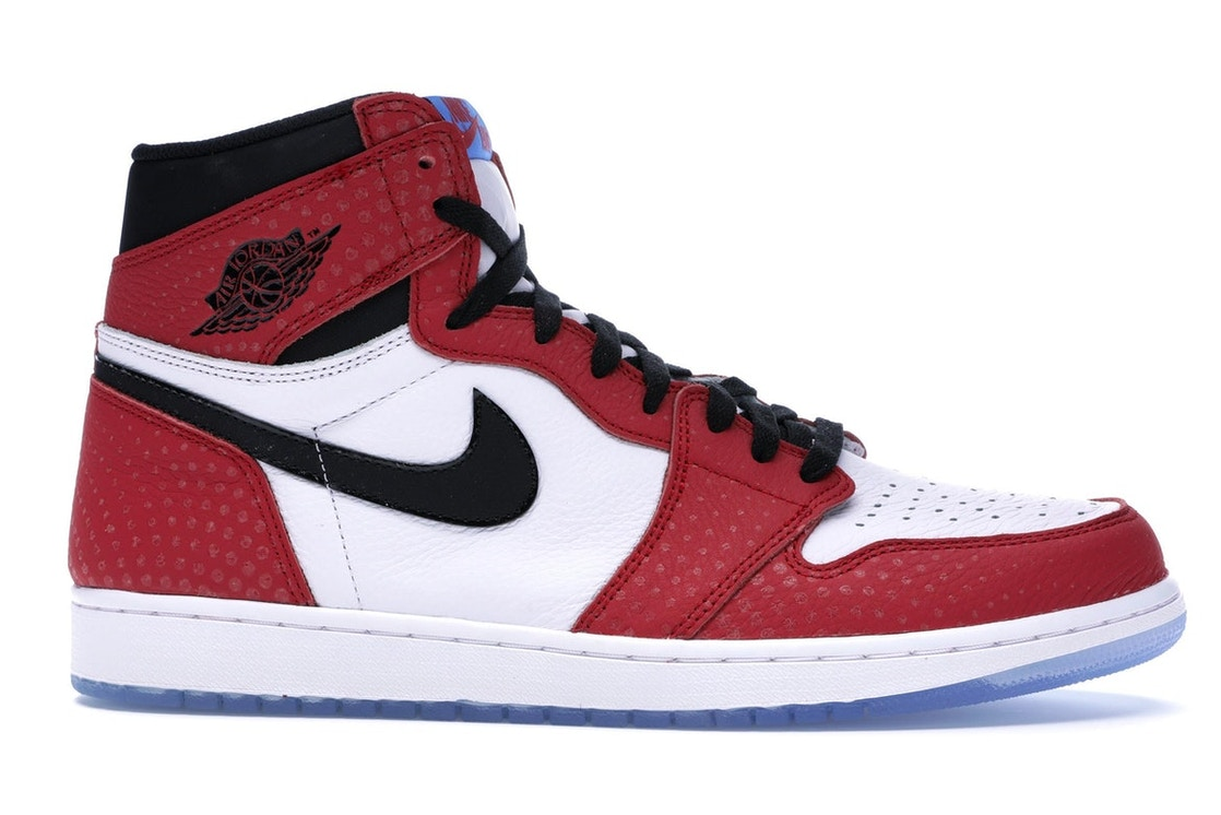 bc0f20adb5c Jordan 1 Retro High Spider-Man Origin Story - 555088-602