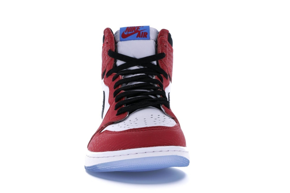 0092cf2c5b4260 Jordan 1 Retro High Spider-Man Origin Story - 555088-602
