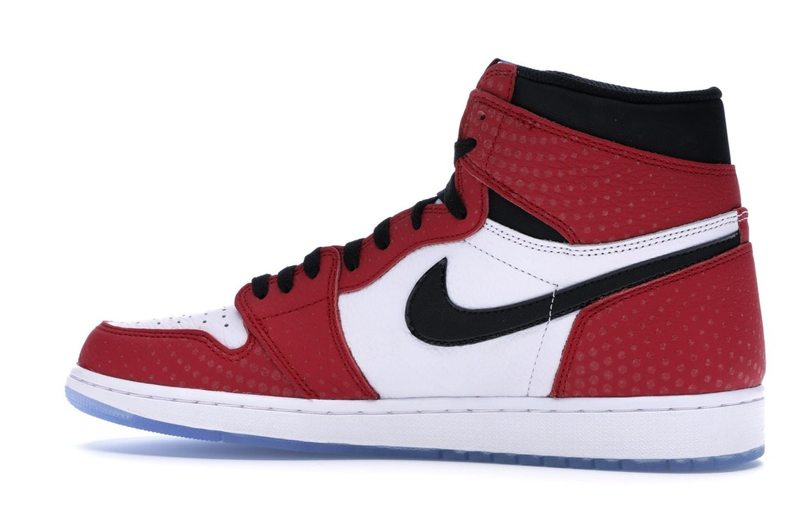 aca39b5f8408 Jordan 1 Retro High Spider-Man Origin Story - 555088-602