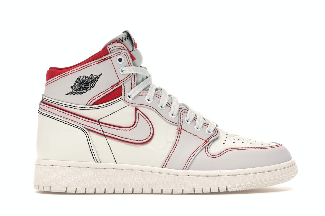 special sales dirt cheap sports shoes Jordan 1 Retro High Phantom Gym Red (GS)