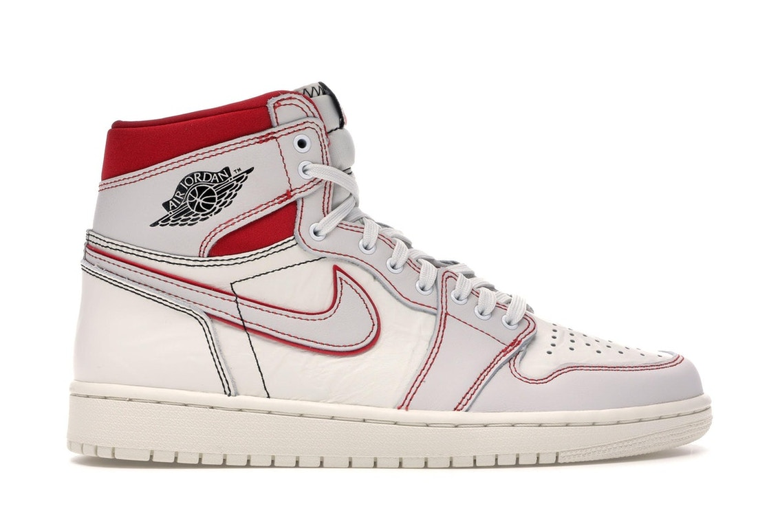 080418c5 Jordan 1 Retro High Phantom Gym Red - 555088-160