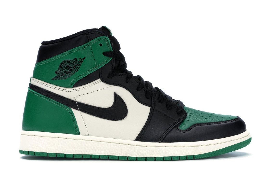 aba2d4cf1f5b Jordan 1 Retro High Pine Green - 555088-302
