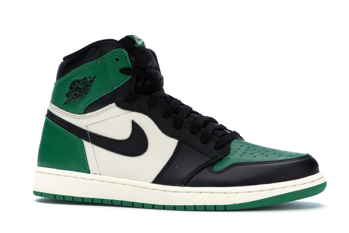 jordan shoes green and white