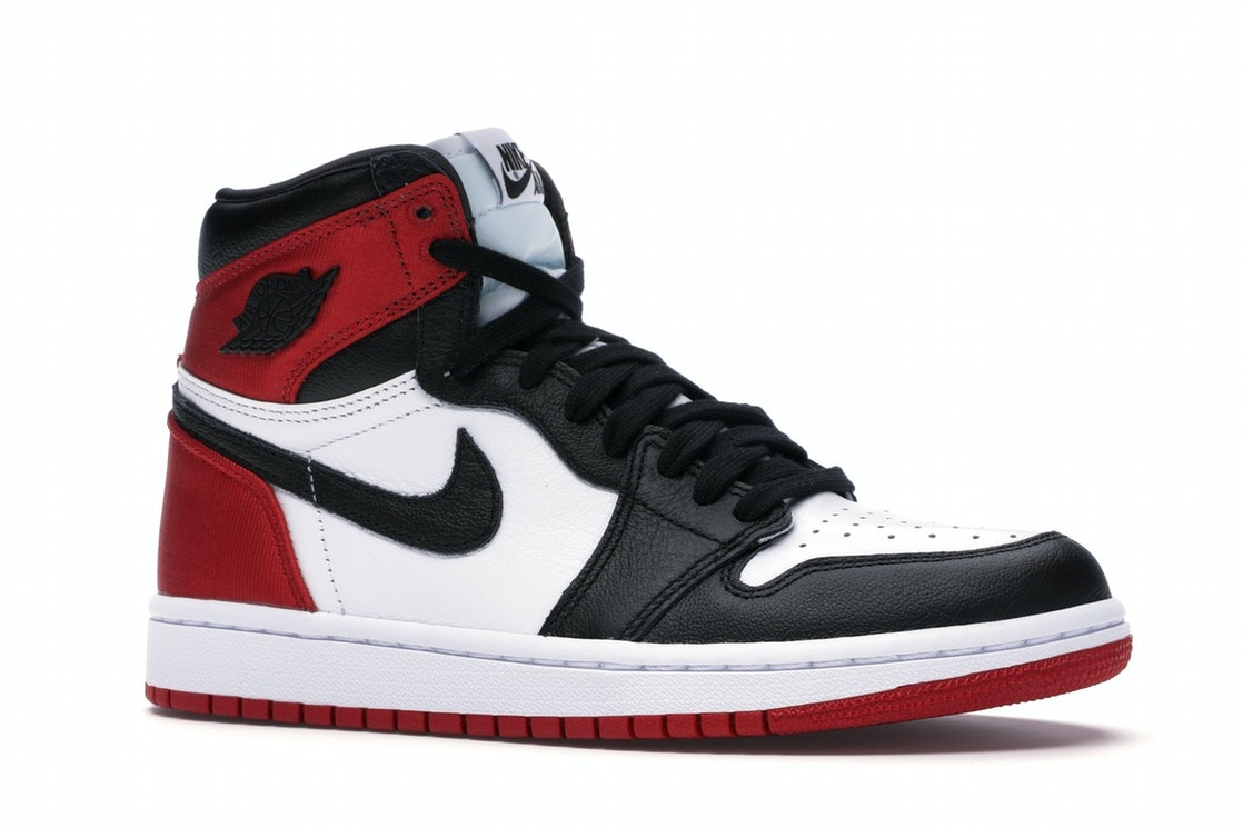 buy online bc814 bca02 Jordan 1 Retro High Satin Black Toe (W)