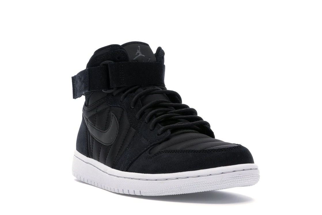 758f5183809 Jordan 1 Retro High Strap Black Anthracite - 342132-004