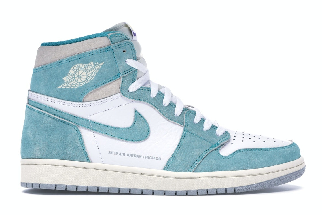 pretty nice b27be dad15 Jordan 1 Retro High Turbo Green - 555088-311