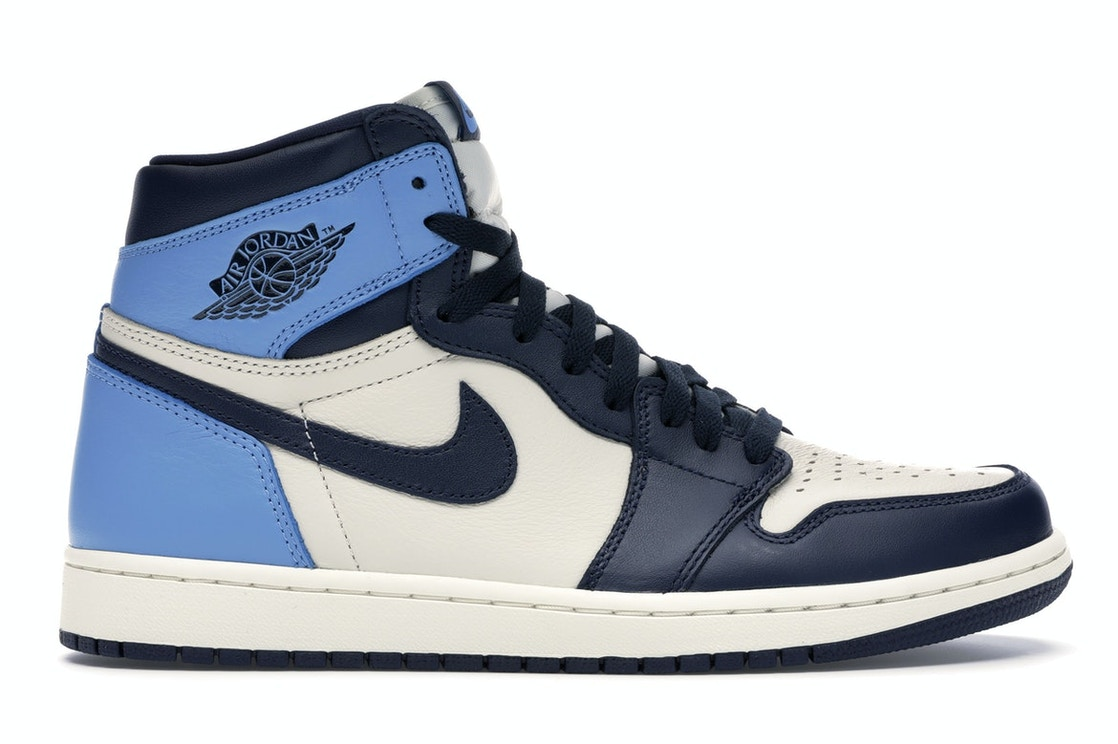 various design super popular speical offer Jordan 1 Retro High Obsidian UNC