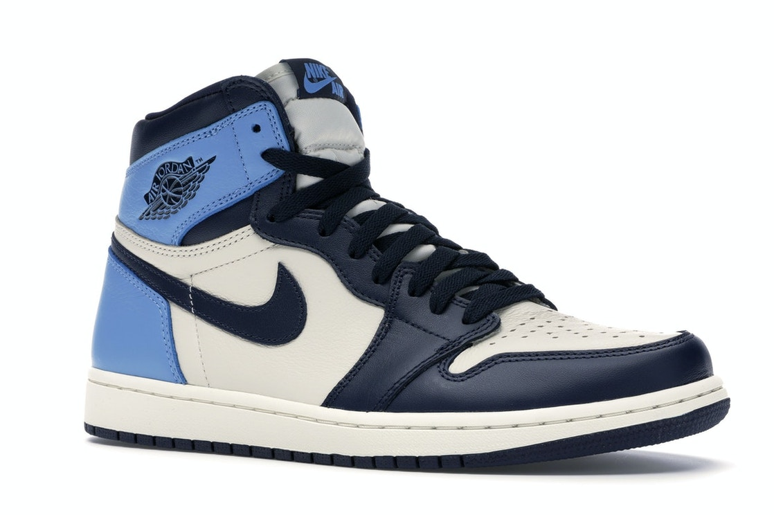 hot product pick up new images of Jordan 1 Retro High Obsidian UNC