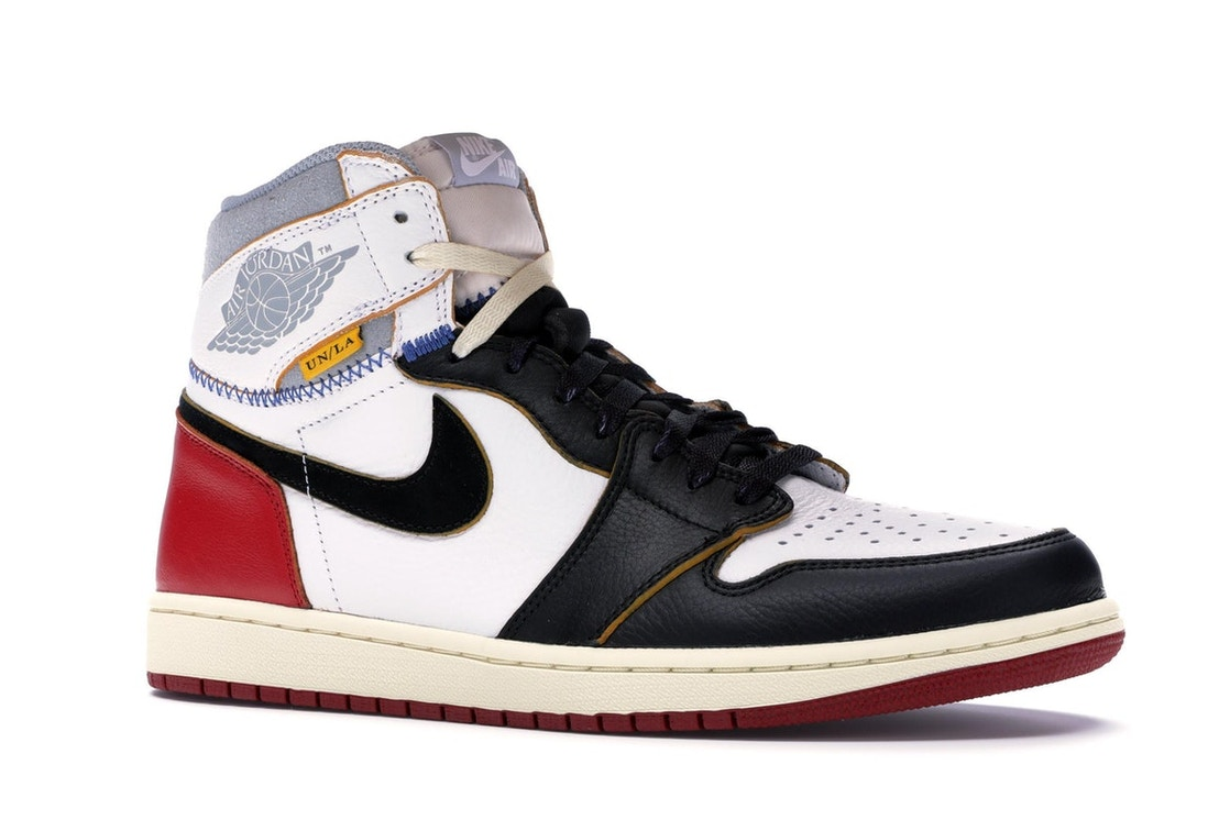 super popular c2816 bee70 Jordan 1 Retro High Union Los Angeles Black Toe - BV1300-106