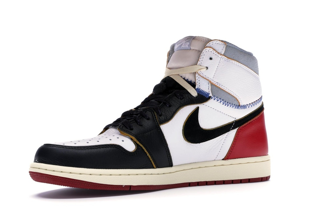 51e9866ead0 Jordan 1 Retro High Union Los Angeles Black Toe - BV1300-106