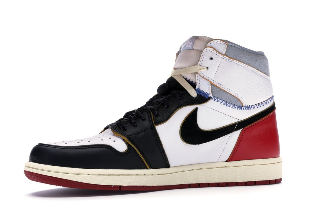 367c7447d5ff75 Jordan 1 Retro High Union Los Angeles Black Toe - BV1300-106