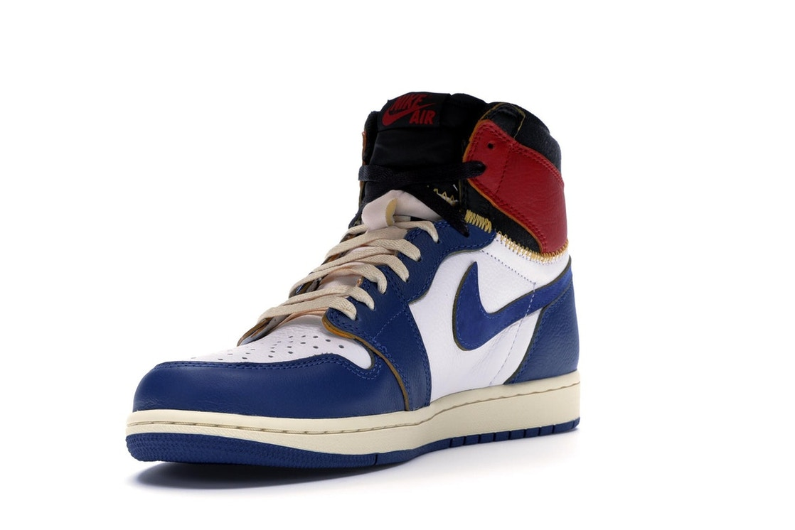 597a9ce4042 Jordan 1 Retro High Union Los Angeles Blue Toe - BV1300-146