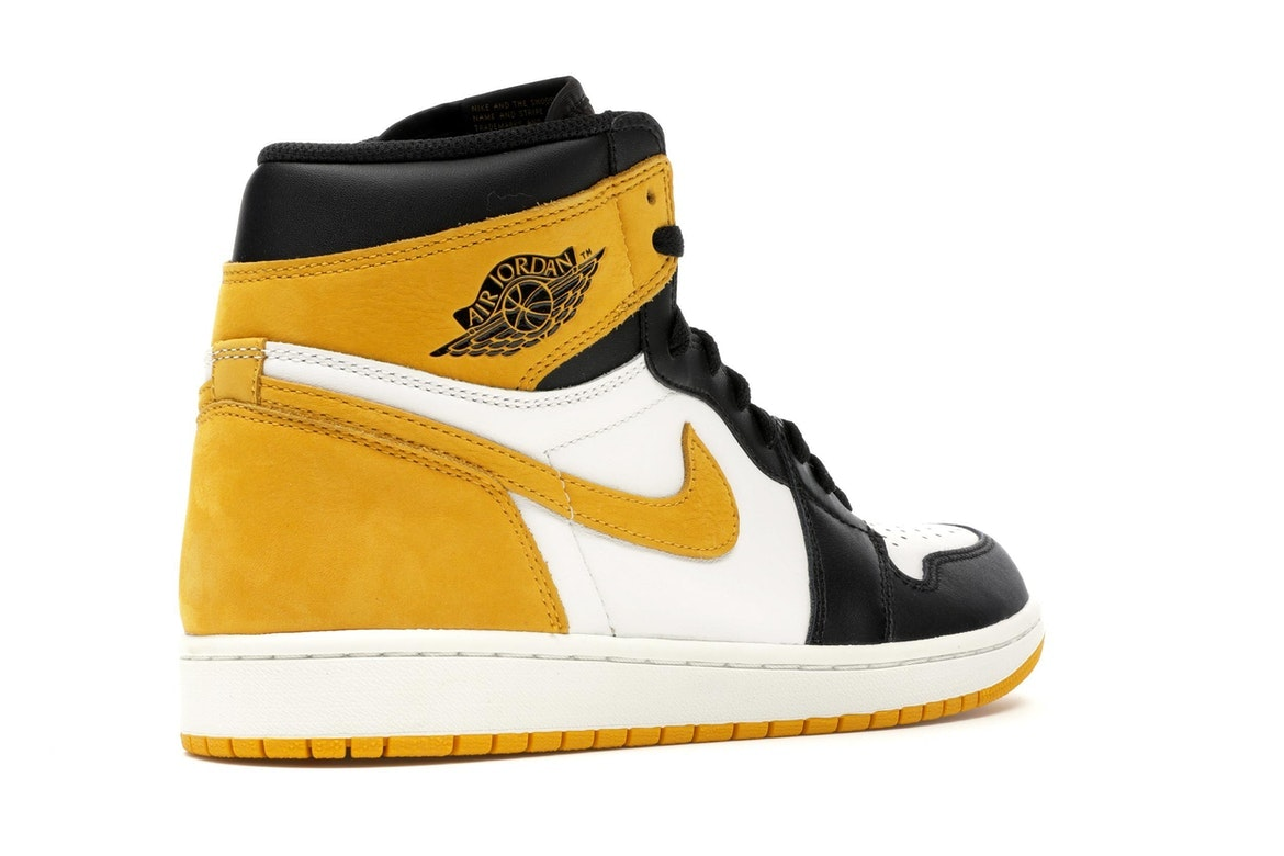 big sale b5d9e 9f0e0 clearance jordan 1 retro high yellow ochre 555088 109 e355b 8f43e