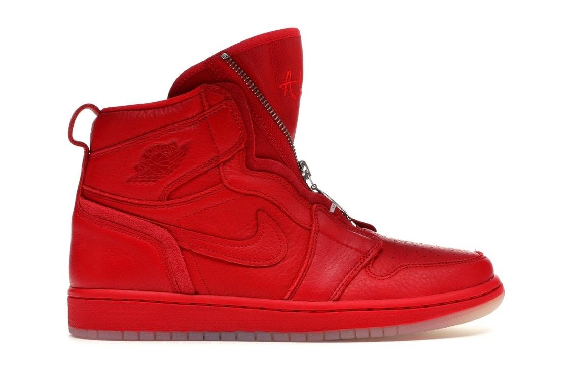Jordan 1 Retro High Zip AWOK Vogue University Red (W) - BQ0864-601 a5e7aeaa42