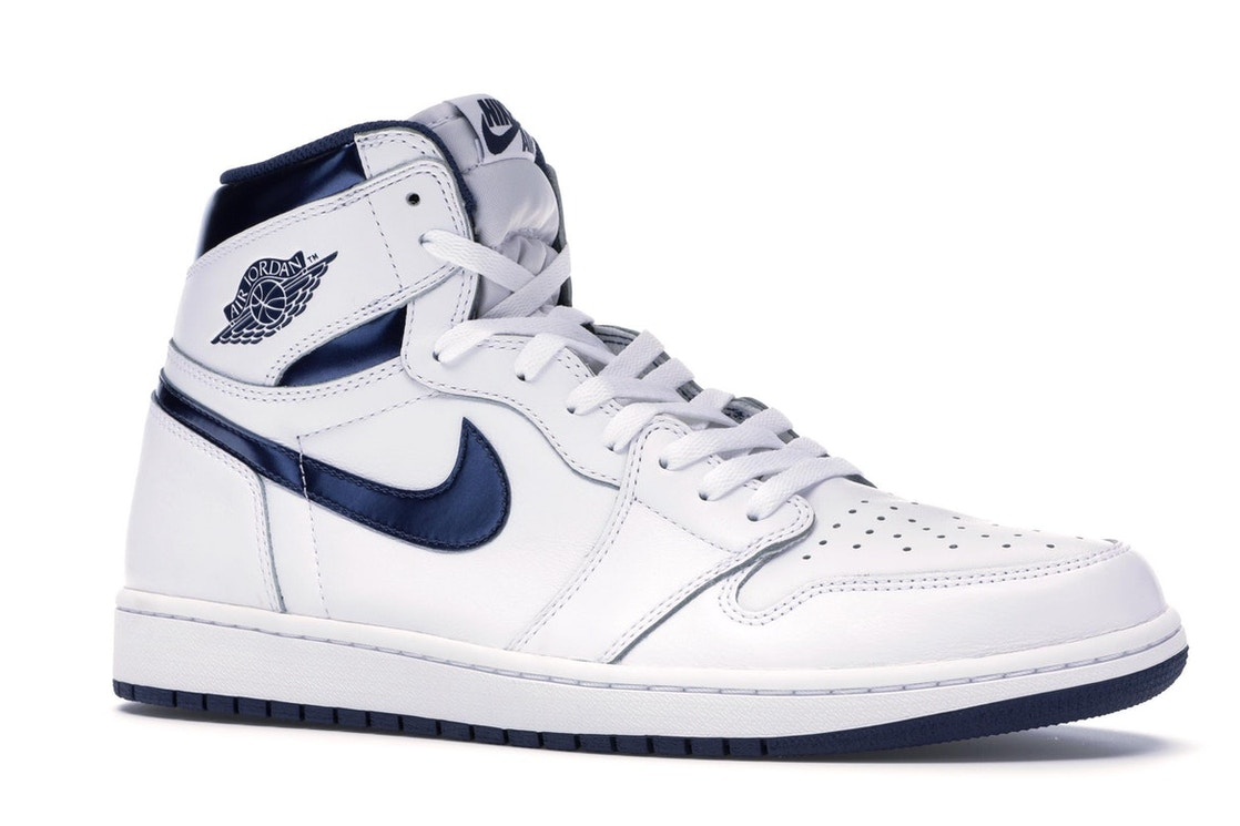 fc6d1577b3c Jordan 1 Retro Metallic Navy (2016) - 555088-106