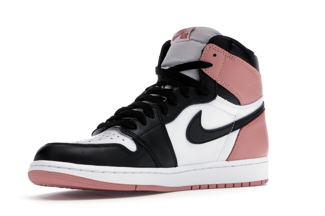 cf60e6249ea Jordan 1 Retro High Rust Pink - 861428-101
