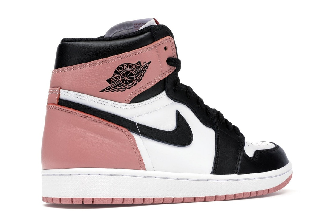 0e39d7dd31d Jordan 1 Retro High Rust Pink - 861428-101