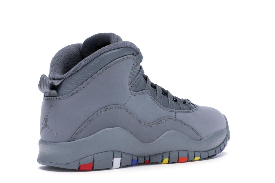 finest selection eb0a9 55c37 Jordan 10 Retro Cool Grey - 310805-022
