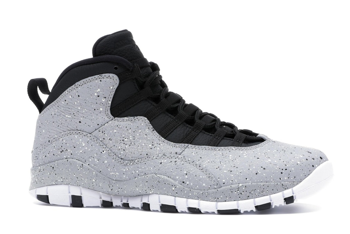 timeless design f80c7 820c1 Jordan 10 Retro Light Smoke Grey - 310805-062