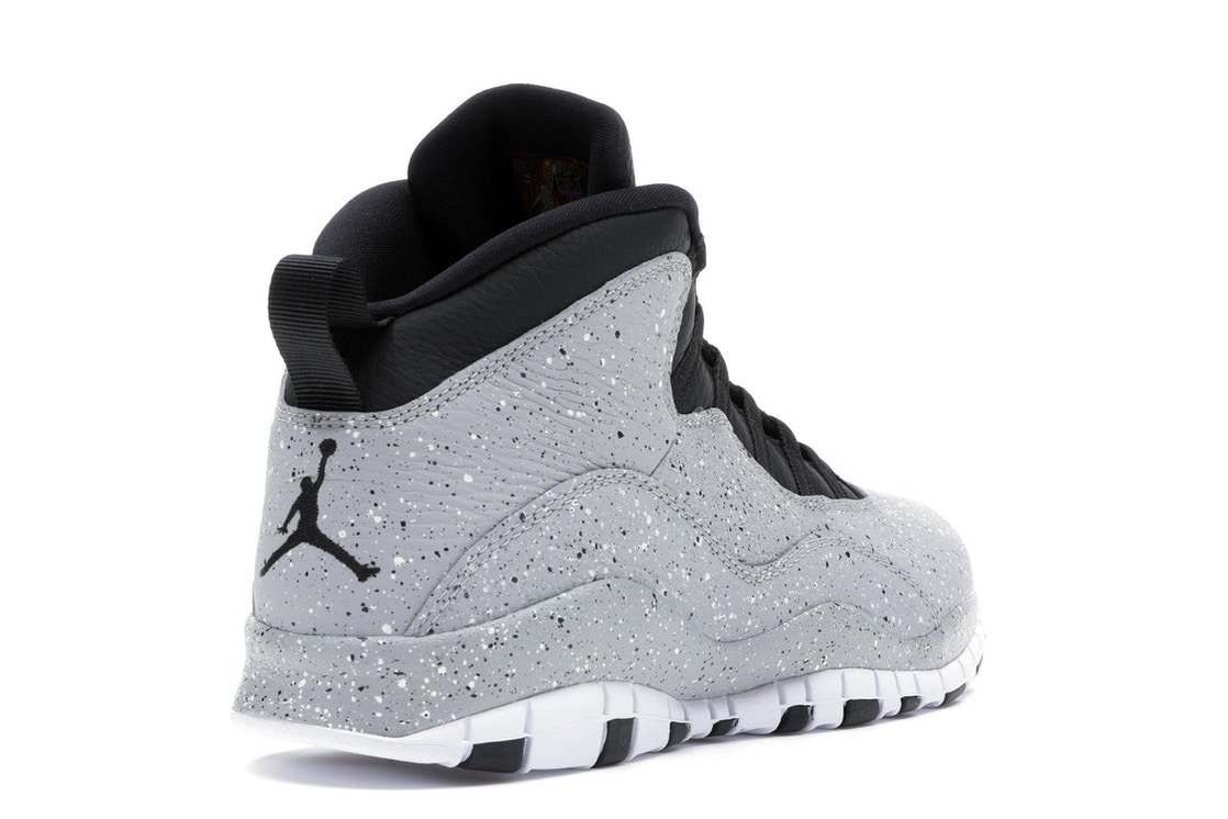 timeless design 42373 863ee Jordan 10 Retro Light Smoke Grey - 310805-062