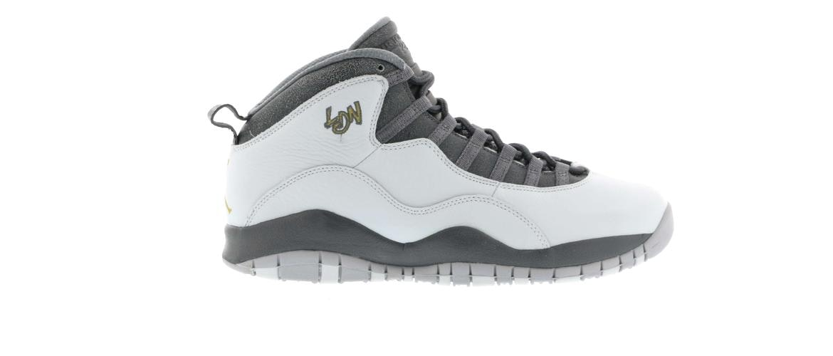 Air Jordan Retro 10 'London' - 310805-004 - Size 7 - zvJdu