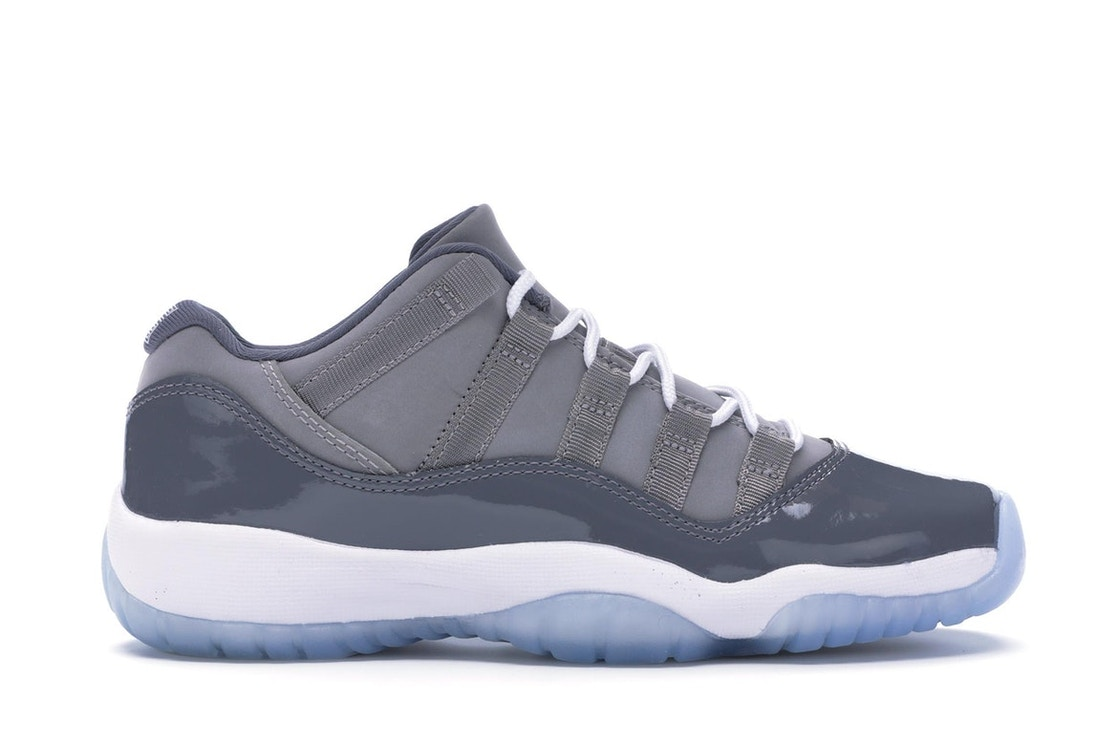 e8ee502c01c3ca Jordan 11 Retro Low Cool Grey (GS) - 528896-003