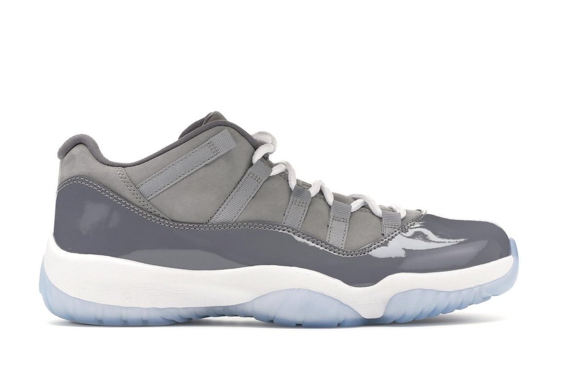 super popular 7bef0 199ee Jordan 11 Retro Low Cool Grey
