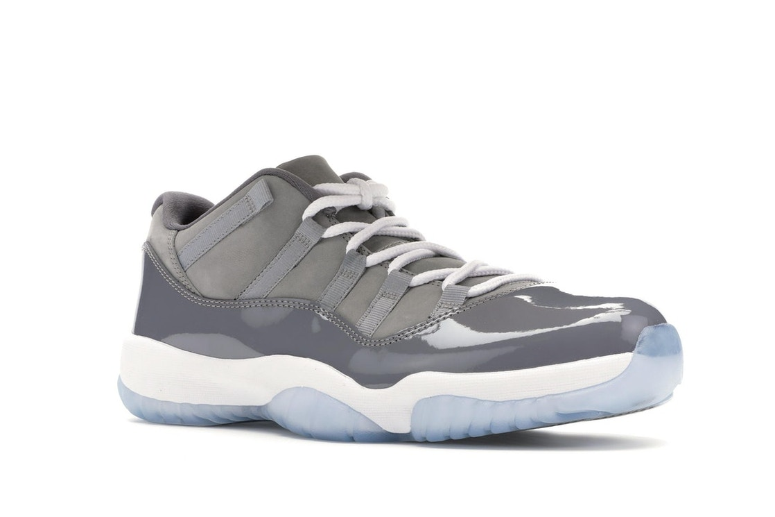 super popular 4a4a4 b2356 Jordan 11 Retro Low Cool Grey