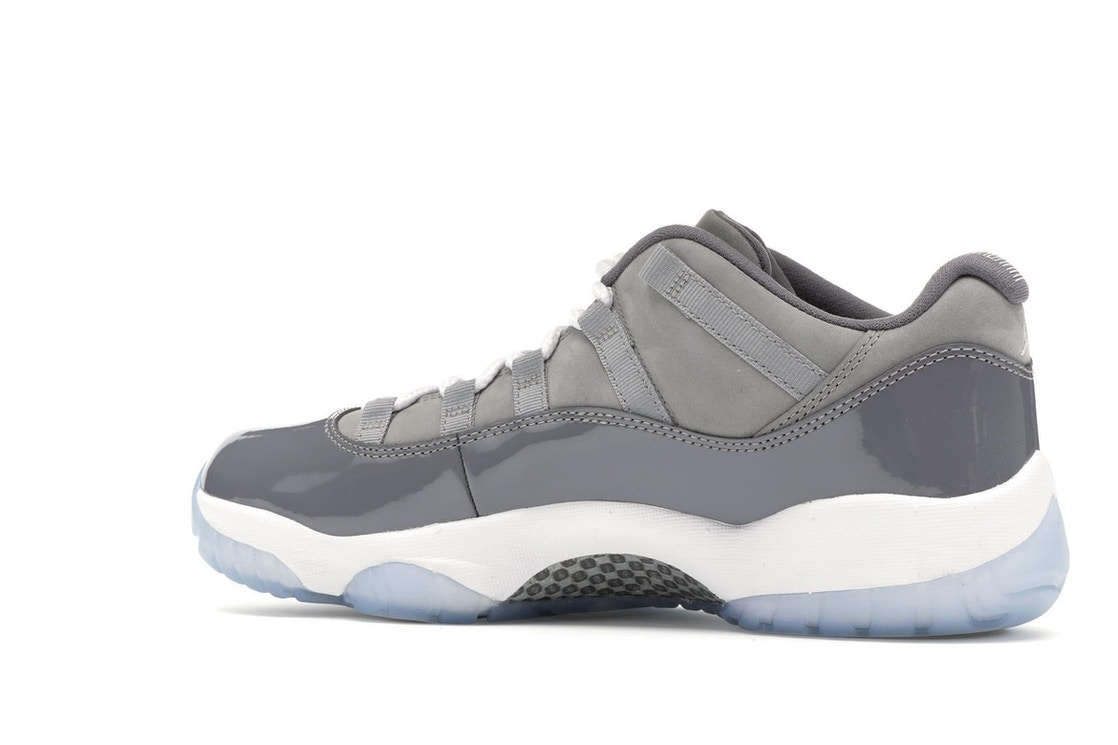97e8c8241bab Jordan 11 Retro Low Cool Grey - 528895-003