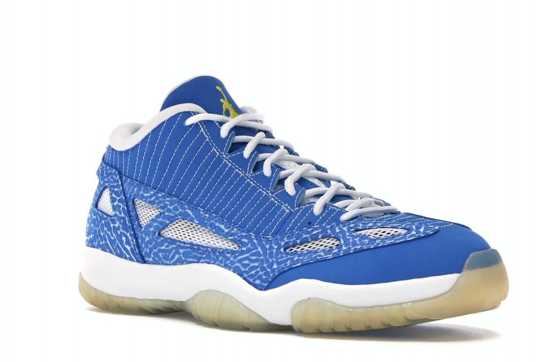ce94fa90435 Jordan 11 Retro Low IE Argon Blue - 306008-471