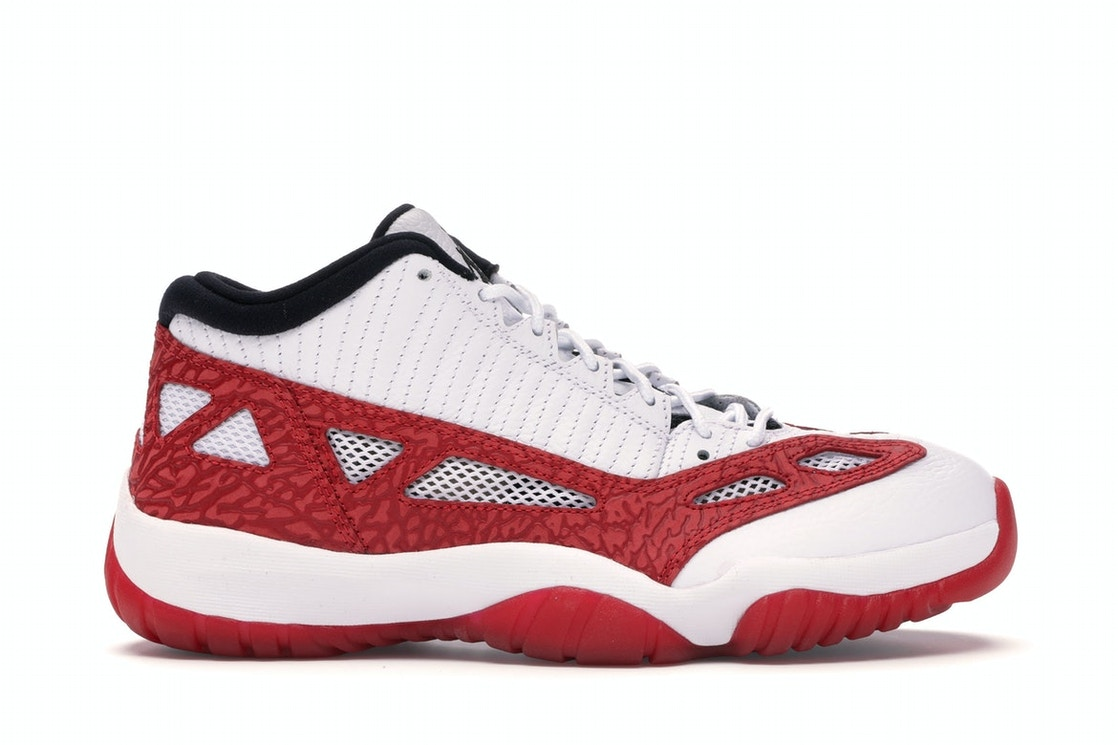 pretty nice 176dd 50e80 Jordan 11 Retro Low IE White Gym Red