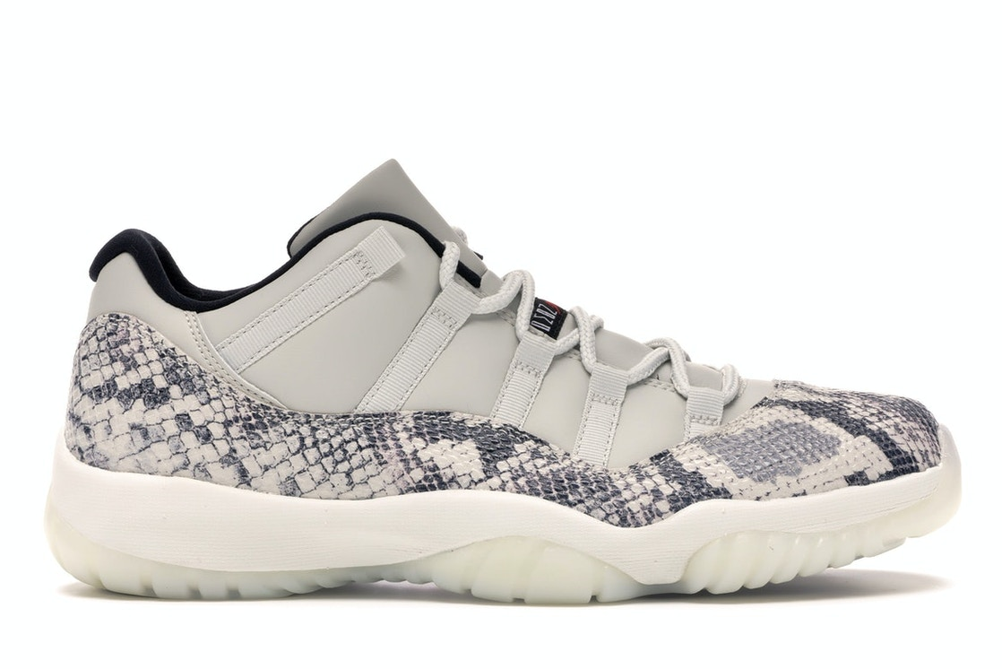 Jordan 11 Retro Low Snake Light Bone