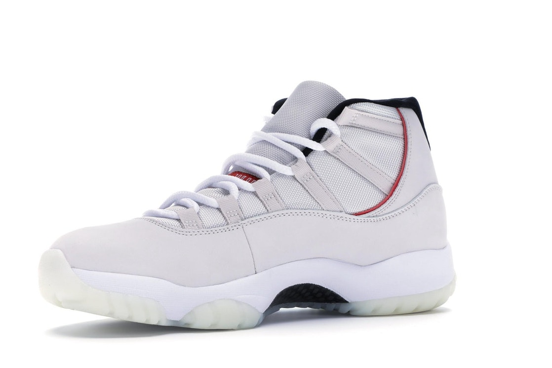 huge discount 393a2 b9227 Jordan 11 Retro Platinum Tint - 378037-016