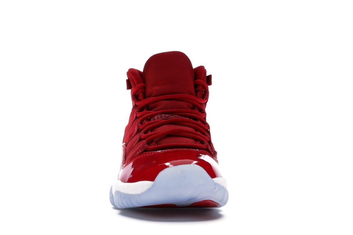 "Nike Air Jordan 11 Retro  GS /""GYM RED/"" Win Like 96 100/% Authentic 378038-623"