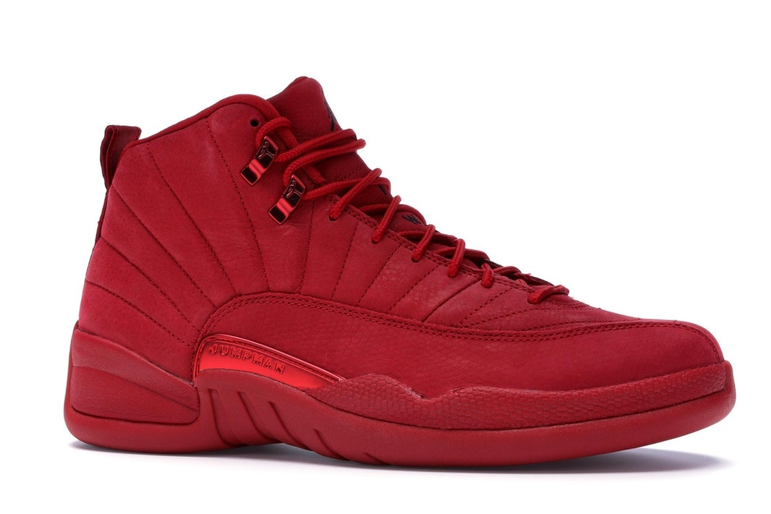 sports shoes e38b2 41d4c Jordan 12 Retro Gym Red (2018) - 130690-601