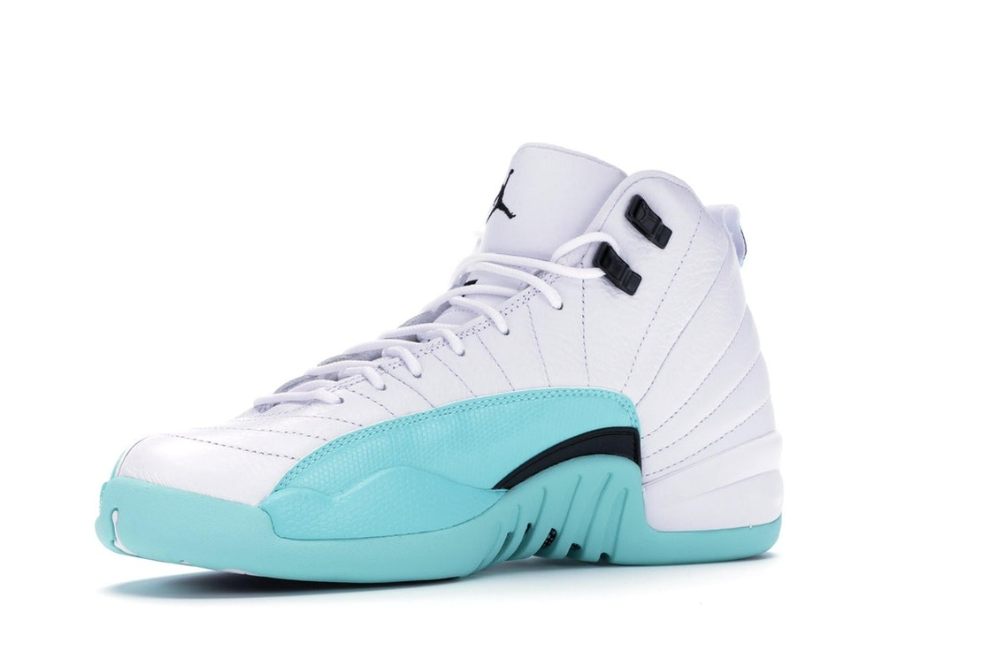 finest selection d382f 568ab Jordan 12 Retro Light Aqua (GS)