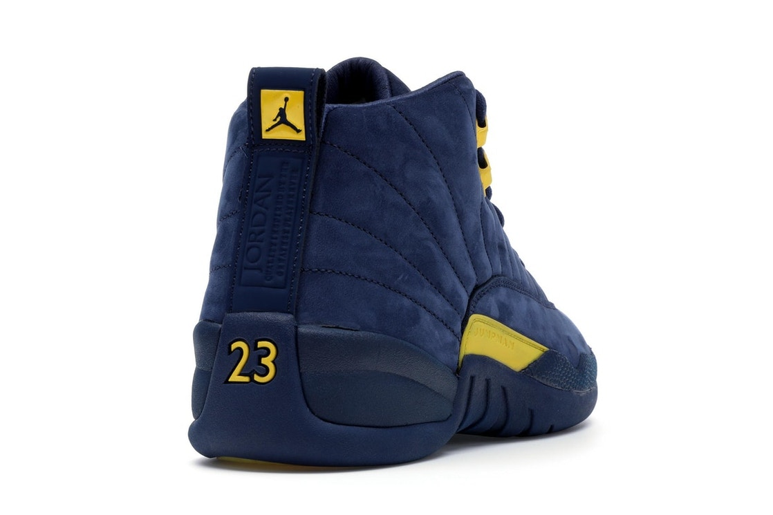 b51d800ed1c Jordan 12 Retro Michigan - BQ3180-407