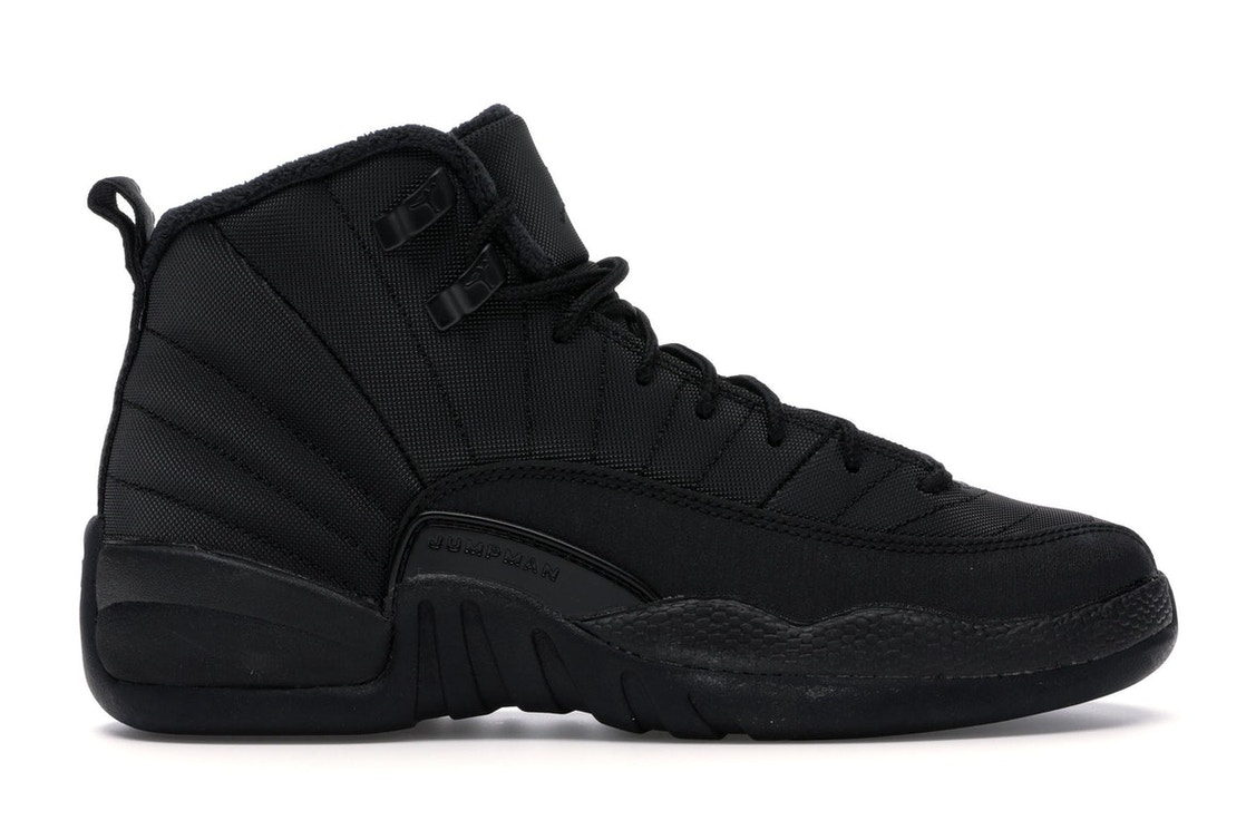 detailed look e5f04 51d9e Jordan 12 Retro Winter Black (GS)