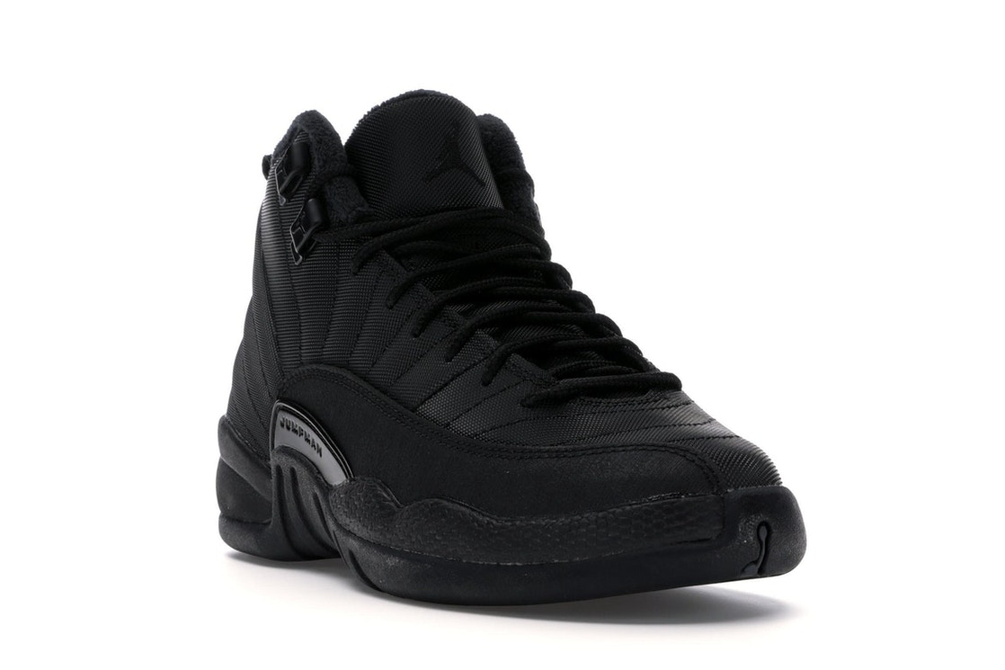 detailed look 9d1f1 ea307 Jordan 12 Retro Winter Black (GS)