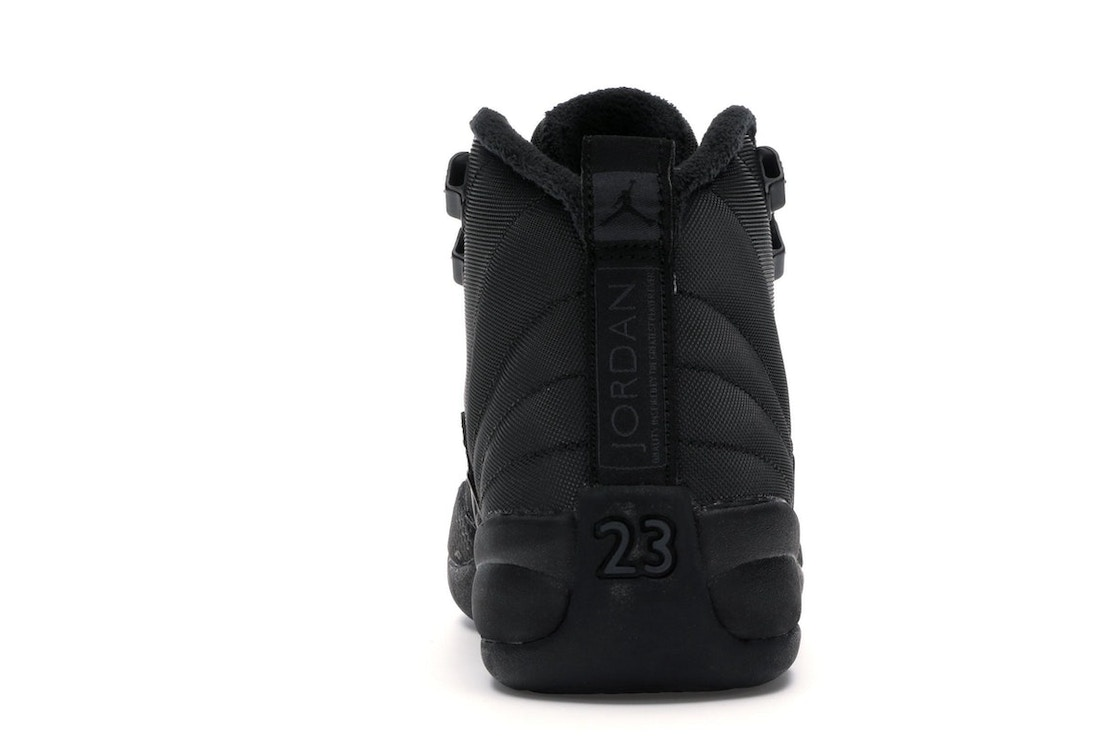 cheap for discount 5a82e 51e6e Jordan 12 Retro Winter Black (GS) - BQ6852-001