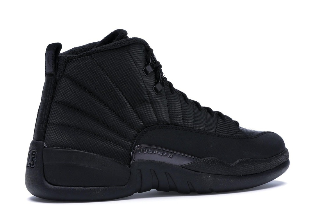 4525cc064437 Jordan 12 Retro Winter Black - BQ6851-001